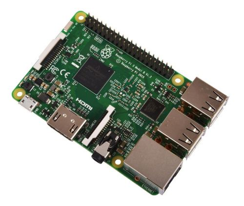 Микрокомпьютер Raspberry Pi 3 Model B Broadcom BCM2837 ARM Cortex-A53 @ 1,2GHz, 1GB RAM, 4 x USB 2.0, HDMI, 10/100 Ethernet, Micro SD Card Slot, Wi-Fi
