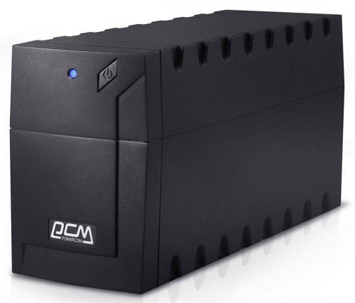 Фото - Источник бесперебойного питания Powercom RPT-800A EURO RAPTOR 800 ВА / 480 Вт источник бесперебойного питания powercom raptor rpt 1000ap euro