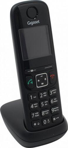 Фото - Трубка Gigaset AS690HX S30852-H2876-S301 черная для AS690 радиотелефон gigaset as690 black