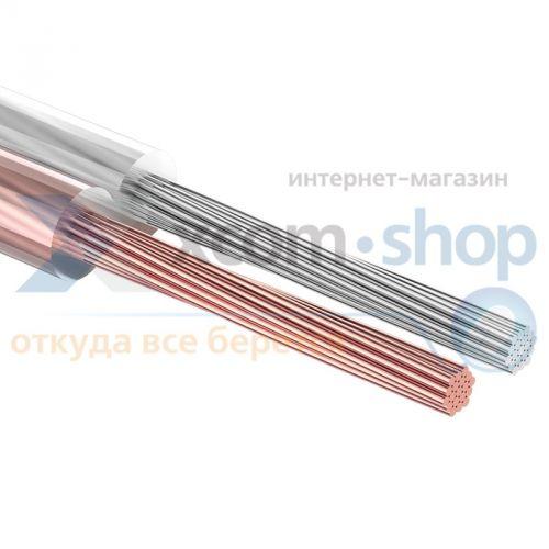 Rexant - Кабель Rexant 2х1.00 мм², прозрачный SILICON, 100 м. (01-6305)