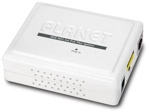 Инжектор Planet POE-161S IEEE 802.3at Gigabit Power over Ethernet Plus Splitter with 5V/12VDC output (10/100/1000Mbps)