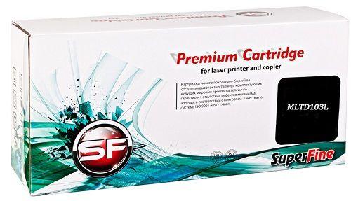 Картридж SuperFine SF-MLTD103L для Samsung MLT-D103L ML-2950ND/2951D/2955/2956/WSCX-4728HN 2.5K SuperFine