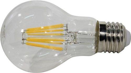 Лампа светодиодная X-flash 48045 XF-E27-FL-A60-8W-4000K-230V Е27, 8 Вт, 4000 К, 220 В, 830 Лм, прозрачная колба - груша лампа светодиодная x flash 48014 xf e14 fl p45 4w 4000k 230v е14 4 вт 4000 к 220 в 460 лм матовая колба шар