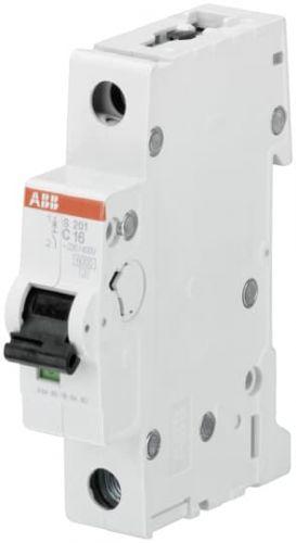 Фото - Автоматический выключатель ABB 2CDS251001R0974 S201 1P 1,6А (C) 6kA автоматический выключатель abb 2cds251103r0104 s201 1p n 10а с 6ка