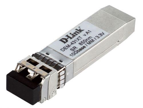 Фото - Модуль SFP+ D-link 431XT/A1A SFP+ Transceiver with 1 10GBase-SR port.Up to 300m rev/A1A/B1A sfp трансивер d link 311gt a1a