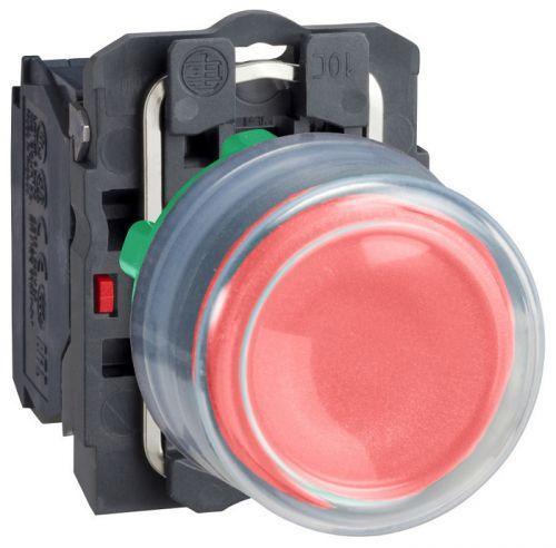 Кнопка Schneider Electric XB5AP42 с возвратом 22мм красная переключатель schneider electric xb5ad41 2 позиции с возвратом 22мм черный