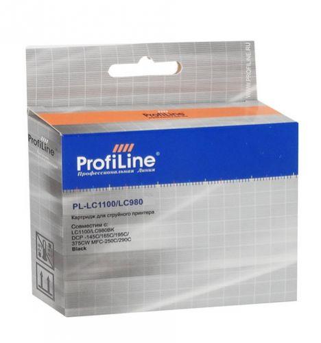 Фото - Картридж ProfiLine PL-LC1100/LC980C-C PL_LC980C_C Cyan водн ProfiLine картридж profiline pl