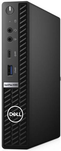 Фото - Компьютер Dell Optiplex 5080 Micro i7-10700T/16GB/1TB/256GB SSD/UHDG 630/Win10Pro/GBitEth/WiFi/BT/130W/клавиатура/мышь/черный пк dell optiplex 5080 micro i7 10700t 2 16gb 1tb 7 2k ssd256gb uhdg 630 windows 10 professional gbiteth wifi bt 130w клавиатура мышь черный
