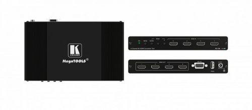 Преобразователь Kramer FC-174 40-00076790 сигнала HDMI четырехканальный 4K60 4:4:4/4:2:0, поддержка 4К60 4:4:4, HDCP 1.4 и 2.2