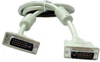 Фото - Кабель интерфейсный DVI-DVI Cablexpert CC-DVI2-10M 25M/25M, Dual link, экран, феррит.кольца, пакет, 10м a1sj71ar21 cc link plc