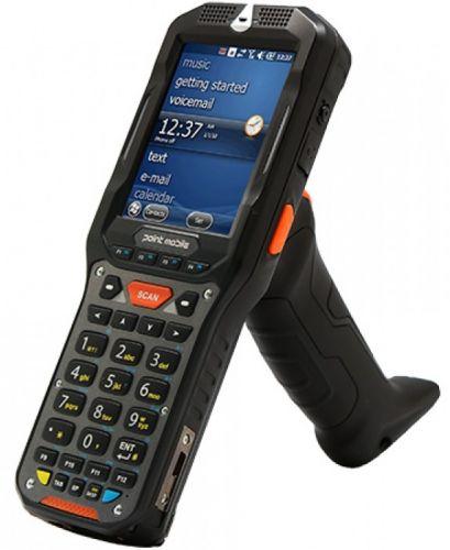Фото - Терминал сбора данных PointMobile PM450 P450GP76154E0T Wi-Fi/BT, 1D/2D Imager, ALPHA NUMERIC, STD(3,120mAh), QVGA, 512MB/1GB, Win CE 6.0 Pro терминал сбора данных pointmobile p260ep12134e0t 2d 2200 ма·ч li ion point mobile pm260 2d bt 802 11 bg 256 256 wce6