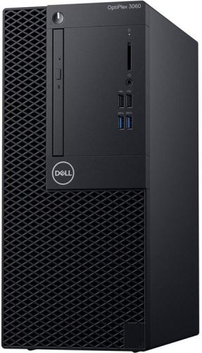 Компьютер Dell Optiplex 3060 MT i5-8500 (3, 0GHz) 8GB (1x8GB) DDR4 256GB SSD Intel UHD 630 W10 Pro TPM 1 years NBD (3060-7502)