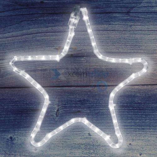 Фигура светодиодная NEON-NIGHT 501-211 звездочка, цвет тепло-белый, размер 30*28 см