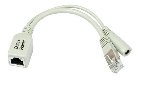 Инжектор Mikrotik RBPOE для питания по технологии Power over Ethernet.для использования с RouterBOARDS, поддерживающих стандарт 10-28В PoE.