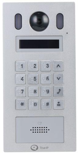 Вызывная панель True IP Systems TI-3220WD 2 Mp IP камера, SIP, TCP/IP, ONVIF, RTSP, DTMF, Режимы: сервер или клиент для SIP сервера, DC12V или POE(802