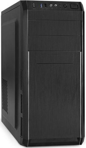 Корпус ATX Exegate XP-334UC-XP500 EX287369RUS черный,БП 500W,USB,USB 3.0, Type-C, аудио