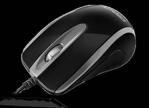 Crown CMM-014 Black-Silver USB