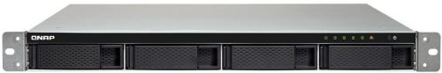 Сетевое хранилище QNAP TS-453BU-RP-4G NAS 4 HDD trays, rackmount, 2 PSU. 4-core Intel Celeron J3455 1,5 GHz (up to 2,3 GHz), GB. W/o rail kit RAIL-B
