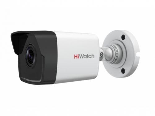 Фото - Видеокамера IP HiWatch DS-I200 (C) 2Мп с EXIR-подсветкой до 30м 1/2.7'' Progressive Scan CMOS матрица, 2.8мм, 114.8°, механический ИК-фильтр, 0.01Лк F видеокамера ip hikvision ds 2cd2023g0 i 6mm 2мп 1 2 8 cmos exir подсветка 30м 6мм 54° механический ик фильтр 0 01лк f1 2 h 265 h 265 h 264
