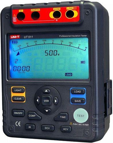 Измеритель Unit 13-0042 сопротивления изоляции UT511
