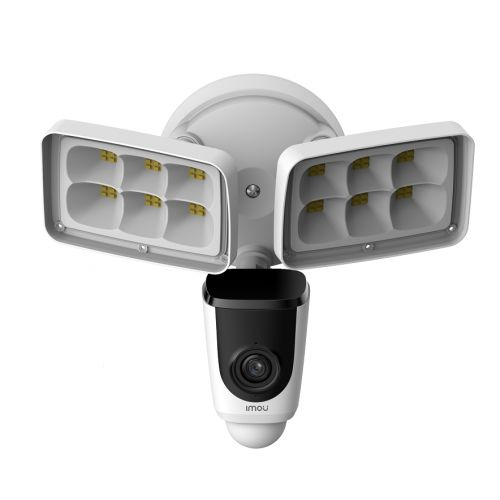 "Видеокамера IP Imou Floodlight Cam IPC-L26P-imou 1/2.7"" 2 Мп CMOS,2Мп (1920 x 1080), двустороняя аудиосвязь, активное отпугивание, детекция движения,"