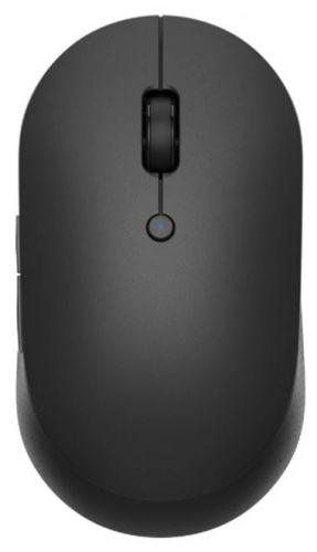 Мышь Wireless Xiaomi Mi Dual Mode Wireless Silent Edition HLK4041GL black (X26112) мышь xiaomi mi dual mode wireless mouse silent edition white wxsmsbmw02