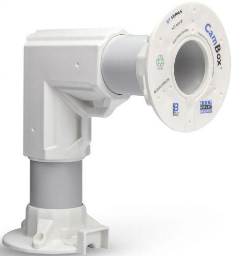 Кронштейн Cambox L-9015 BRACKET Wht угловой для камер видеонаблюдения и точек доступа WiFi, белый