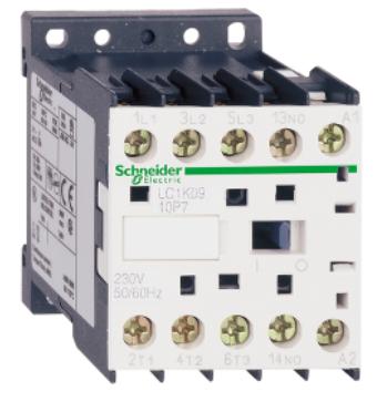 Контактор Schneider Electric LC1K1610M7 Contactors K Telemecanique 380V, 16А, 3НО сил.конт. 1НО доп.конт. катушка 220V АС
