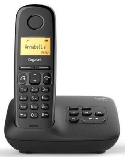 Телефон DECT Gigaset A270A AM RUS S30852-H2832-S301 черный автооветчик АОН