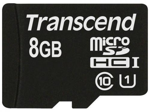Карта памяти 8GB Transcend TS8GUSDCU1 microSDHC Class 10 UHS-I