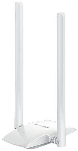 Сетевой адаптер Mercusys MW300UH N300, две 5 дБи высокочувствительные антенны, гибкая установка с USB кабелем, поддержкаWindows 10/8.1/8/7/XP(32/64 b