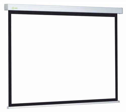 Экран Cactus CS-PSW-127X127 Wallscreen 1:1 настенно-потолочный рулонный белый
