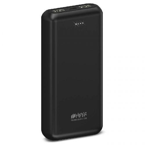 Аккумулятор внешний портативный HIPER PSL20000 PSL20000 BLACK черный Li-Pol 20000 mAh 2.1A+2.1A 2xUSB 1xType-C недорого