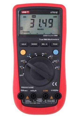 Мультиметр Rexant 13-0048 профессиональный UNI-T UT61E