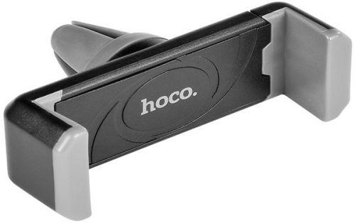 Держатель автомобильный Hoco CPH01 6957531018223 на дефлектор, магнитный, черный