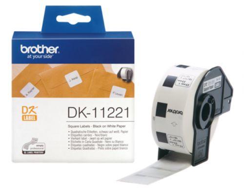 Наклейка Brother DK11221 Адресные наклейки Brother