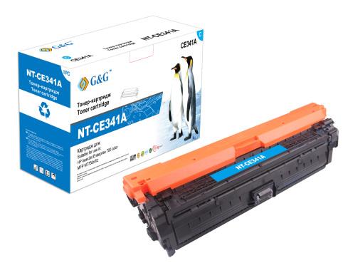 Картридж G&G NT-CE341A голубой для HP Color LaserJet Enterprise 700 M775 (15000стр)