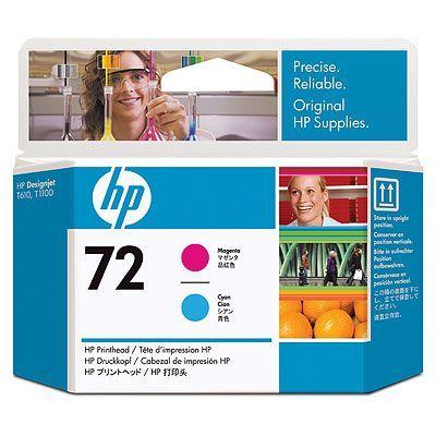 Картридж HP C9383A №72 для T1100/610 (печатающая головка пурпурный и голубой)