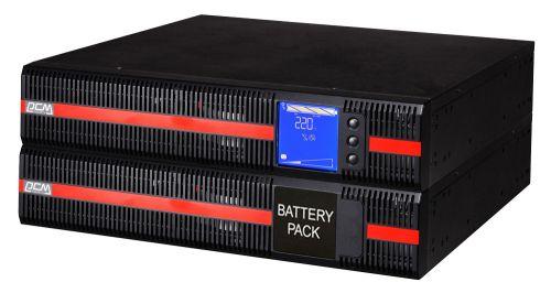 Источник бесперебойного питания Powercom MRT-6000 6000 VA / 6000 W, Rack/Tower, клеммная колодка, LCD, Serial+USB, USB, SmartSlot, подкл. доп. батарей