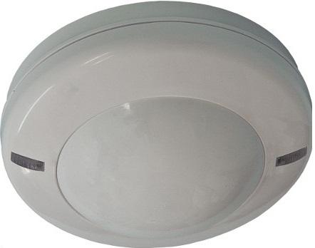 Извещатель Риэлта Пирон-6 оптико-электронный потолочный, угол обзора 360°, U-пит.9…15В, I-потр.17мА, IP41, t-раб.-40…+50°C