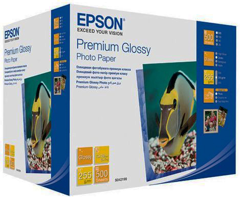 Фотобумага Epson C13S041826 Premium Glossy Photo Paper 100x150мм 500 листов