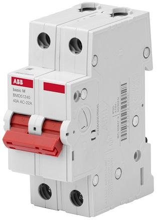 Выключатель нагрузки ABB 2CDD642051R0040 2P 40A BMD51240
