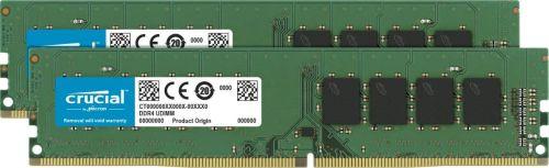 Фото - Модуль памяти DDR4 8GB (2*4GB) Crucial CT2K4G4DFS824A PC4-19200 2400MHz CL17 SRx8 1.2V RTL модуль памяти hynix ddr4 dimm 2400mhz pc4 19200 cl15 8gb hma81gu6afr8n uhn0
