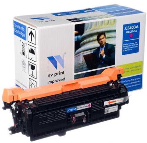 Фото - Картридж NVP NV-CE403AM Magenta для CLJ Color M551 (6000k) картридж hp ce400x 507x для clj color m551 series black черный