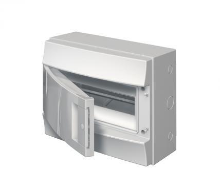 Бокс ABB 1SL1102A00 Mistral65 настенный 12М непрозрачная дверь (без клемм)