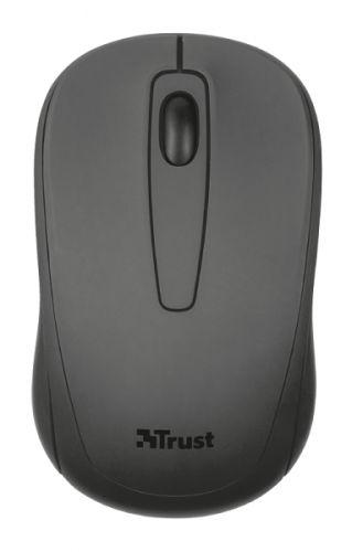 мышь trust varo wireless ergonomic mouse black usb Мышь Wireless Trust Ziva Trust 21509 USB, 1200dpi, black, подходит под обе руки