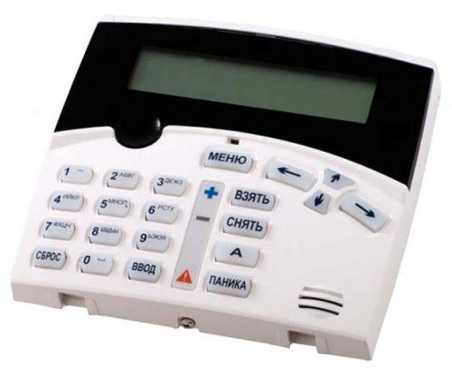 Клавиатура Parsec AKD-01 для управления функциями охраны контроллера AC-08, 21-кнопочная клавиатура + 2-строчный ЖК-дисплей