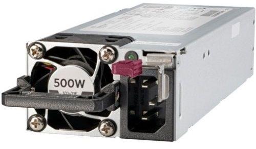 Блок питания HPE 866729-001 500 watt Flexible Slot 'Platinum Plus' hot-plug low Halogen power supply - 750W, 96% efficiency для DL360 Gen10/380 Gen10 недорого