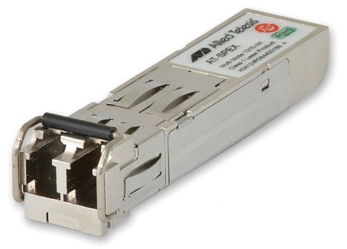 Модуль Allied Telesis AT-SPEX 1000LX, 2km, Multi mode, Dual fiber [Tx=1310,Rx=1310], LC