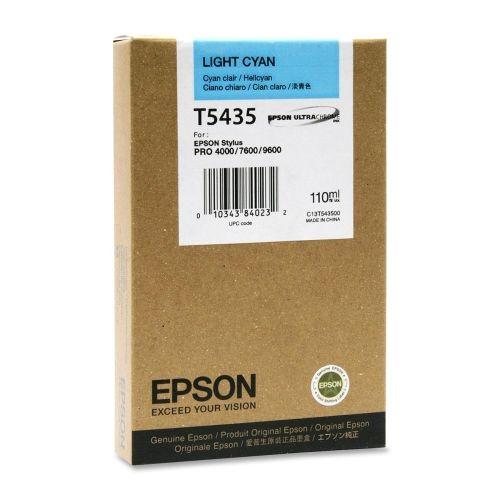 Картридж Epson C13T543500 для принтера Stylus Pro 7600 cyan light